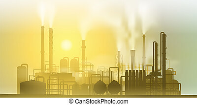 Industrial Plant - Industrial Chemical Petrochemical Oil and...