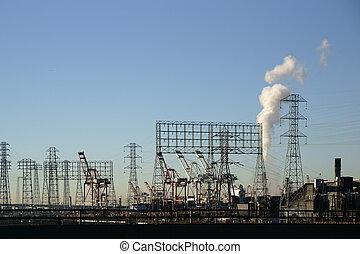 Industrial Port of Los Angeles