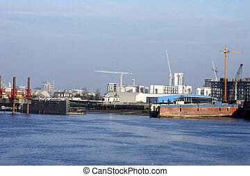 Industrial port Thames