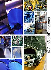 industrial, producción