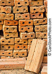 Industrial production of bricks - Industrial production of...