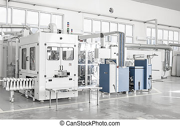 Industrial production workshop - Factory and industrial...