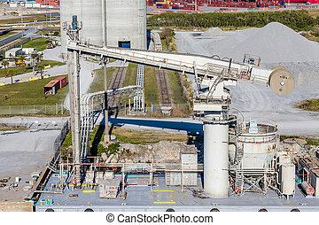 Industrial Pump in Harbor