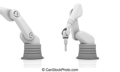 Industrial robotic arms 2013