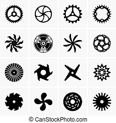 Industrial rounded objects