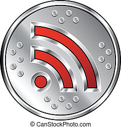 Industrial RSS feed icon