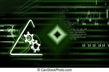 industrial, símbolo