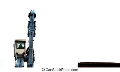 Industrial Scrap Grabber - Mechanical Grabber Claw Crane in...