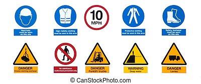 industrial, señales