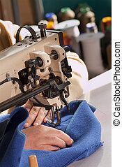 Industrial Sewing Machine - Industrial sewing machine that...