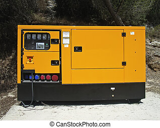Electricity Generator - Industrial size diesel Electricity ...