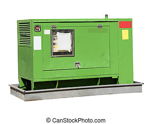 Industrial-sized electrical  power generator