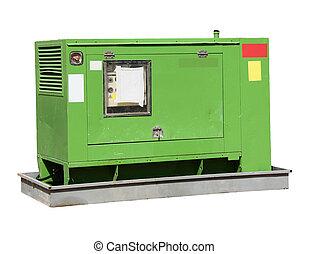 industrial-sized, elektriskt driva, generator