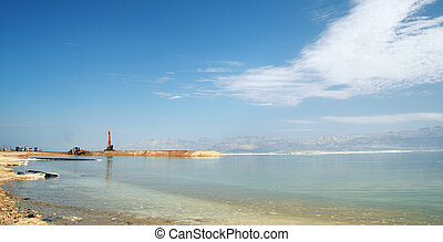 industrial space on the Dead Sea