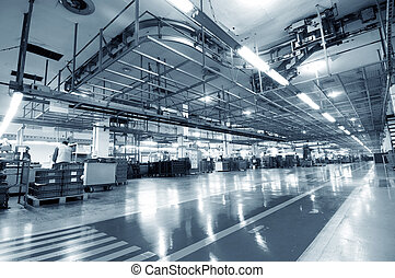 Industrial space - Production of automobile engine plant