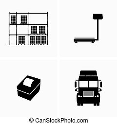 Industrial storage equipment and cargo transportation