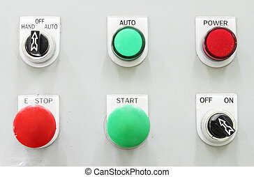 switching button control panel - industrial switching button...