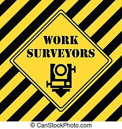 Industrial symbol for surveying