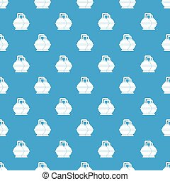 Industrial tanks for petrol and oil pattern seamless blue