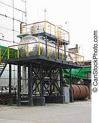 industrial, tanques químicos