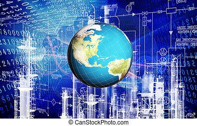 industrial, tecnologia