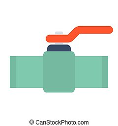 Industrial valve icon