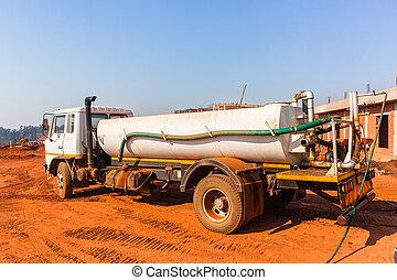 Industrial Vehicle Water Tanker - Industrial truck vehicle...