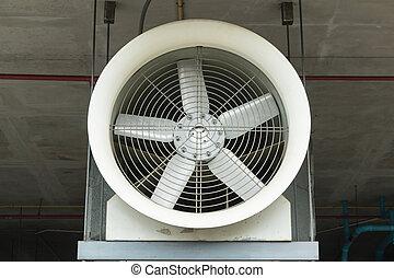 industrial, ventilador