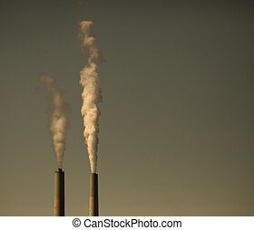 Industrial Waste Polluting the Planet