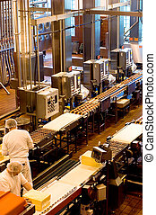 Cheese factory in Oregon