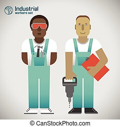 Industrial Workmen Set