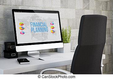 industrial workspace financial planning