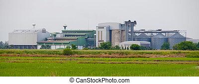 industrial, zona
