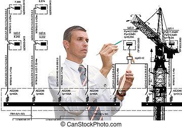 industriale, costruzione, tecnologia