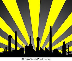 industriale, fondo