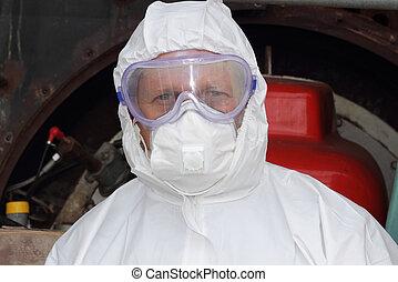 industriale, ingegnere, /, pulitore