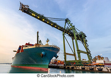 industriale, porto