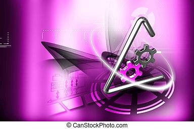 industriale, simbolo
