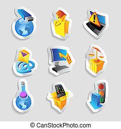 industrie, écologie, icônes