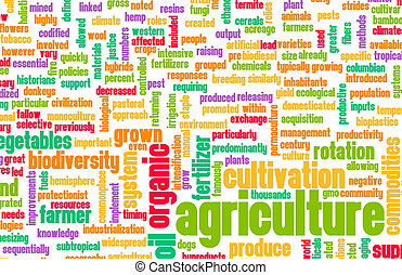 industrie, agriculture