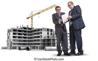 Industrie, bouwsector, corruptie