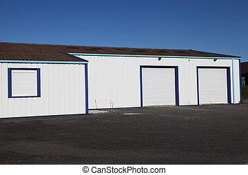 Superior Industrie, Buero, Mit, Garage Türen