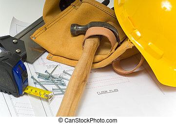 industrie, construction