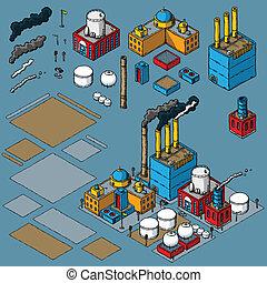 industrie, construction, kit