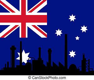 industrie, drapeau australie