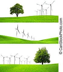industrie, greening