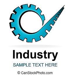 industrie, icône