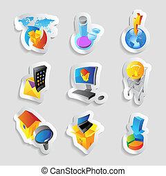 industrie, icônes