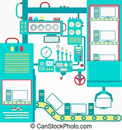industrie, informatique