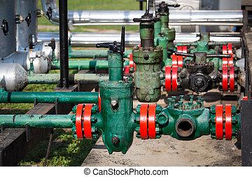 industrie, olie, gas
